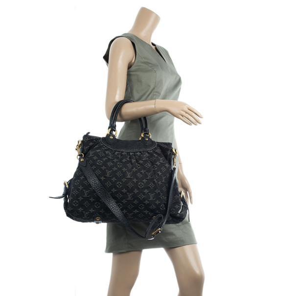 Louis Vuitton Monogram Denim Neo Cabby GM Tote