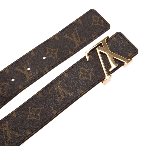 Louis Vuitton Monogram Initials Belt 80CM
