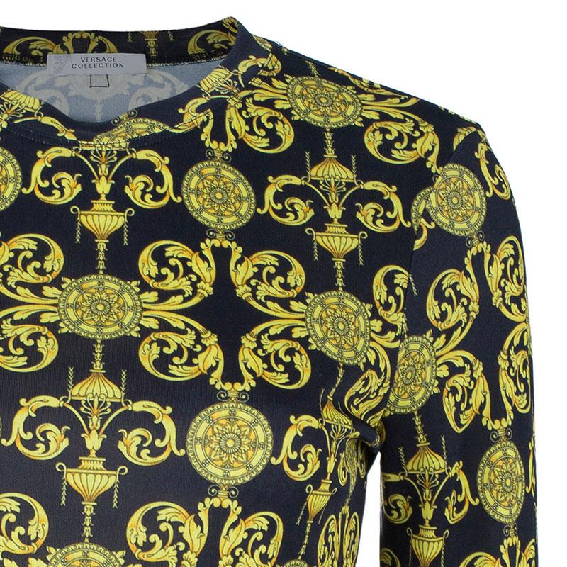 Versace Baroque-Print Top M