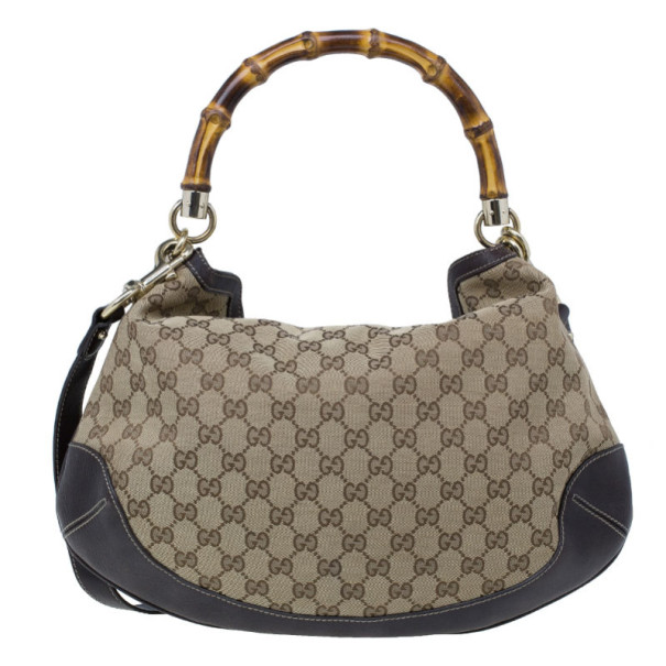 Gucci GG Monogram Canvas Medium Peggy Shoulder Bag