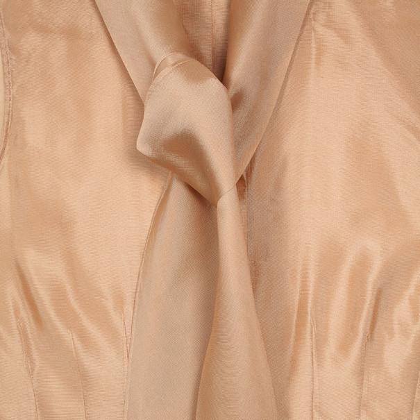 Hermes Front Tie Peach Top XL