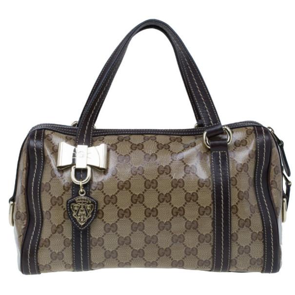 Gucci Guccissima Duchessa Medium Boston Bag