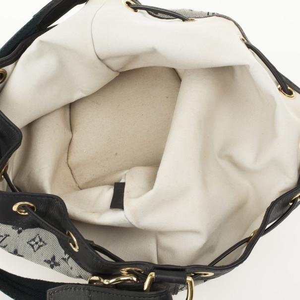 Louis Vuitton Blue Monogram Mini Lin Noelie Bag