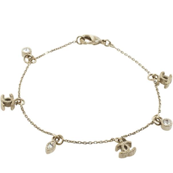 Chanel Cc Logo Charms Bracelet Nextprev Prevnext
