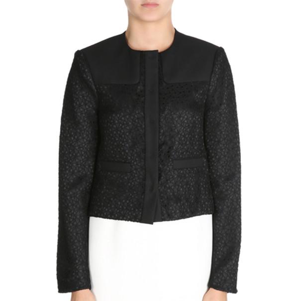 Jason Wu Black Cropped Jacket S