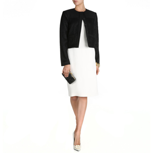 Jason Wu Black Cropped Jacket S - Buy & Sell - LC