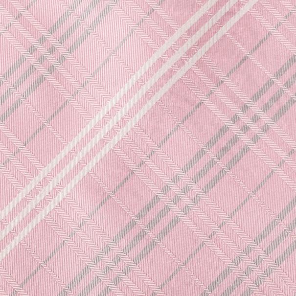 Burberry Pink Novacheck Silk Tie