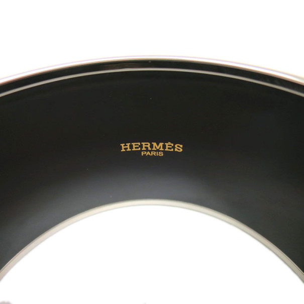 Hermes Extra Wide Printed Bracelet 20CM