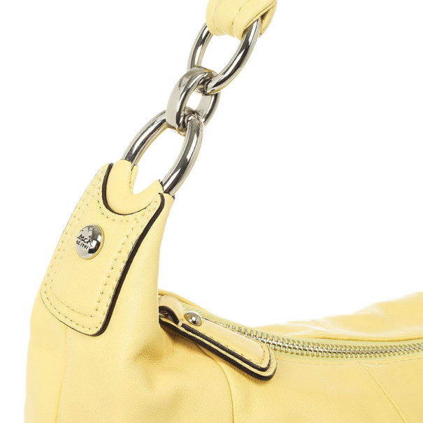 Coach Yellow Leather Kristin Hobo
