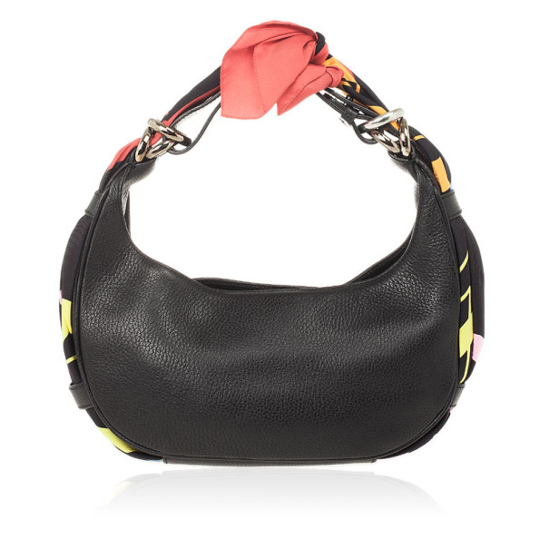 Givenchy Black Leather Hobo
