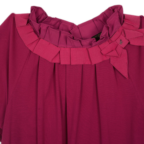 Louis Vuitton Hot Pink Top L