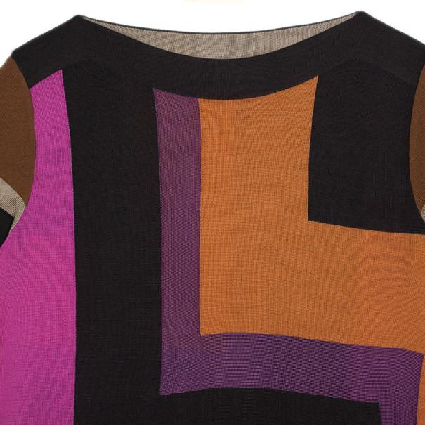 Missoni Color Block Dress XL