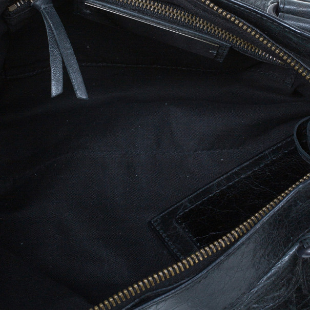 Balenciaga Black Leather Classic First Shoulder Bag