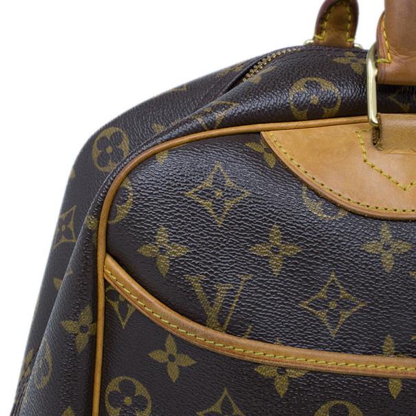 Louis Vuitton Monogram Canvas Deauville Vanity Case