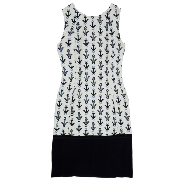 Balenciaga Off-White Anchor Dress M