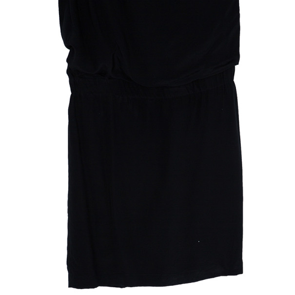Philosophy Di Alberta Ferretti Black Silk Dress S