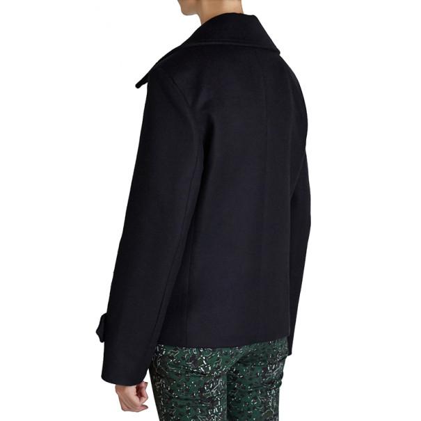 Mary Katrantzou Black Didicon Short Coat M