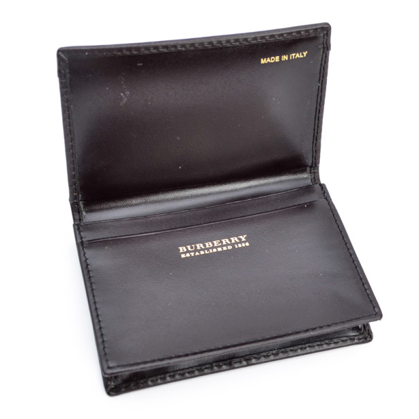 Burberry Haymarket Check Cardholder