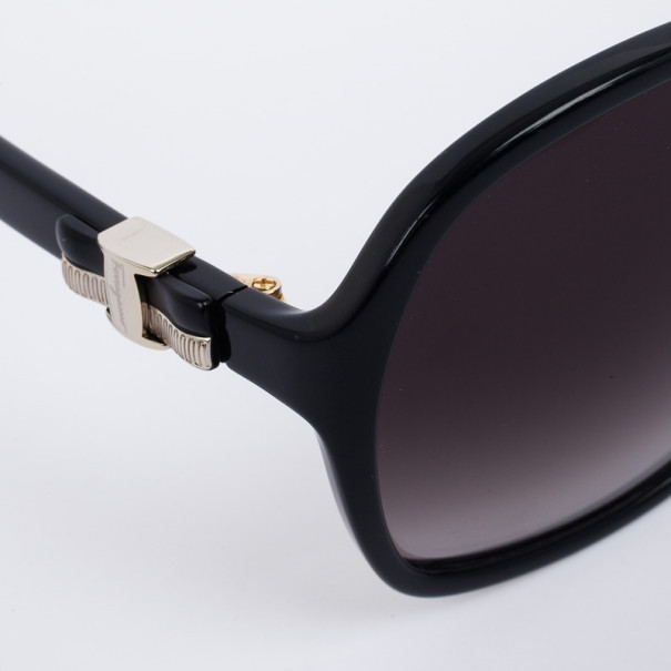 Salvatore Ferragamo Black 646S Oversized Womens Sunglasses