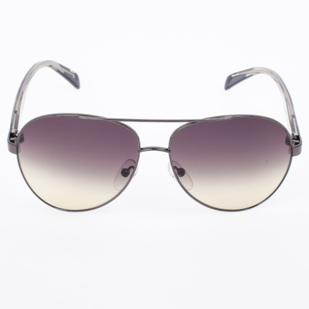 Emilio Pucci 132S Grey Oversized Womens Sunglasses