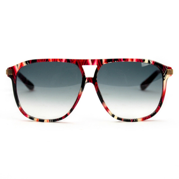 Marc by Marc Jacobs Red & Black Square Womens Sunglasses