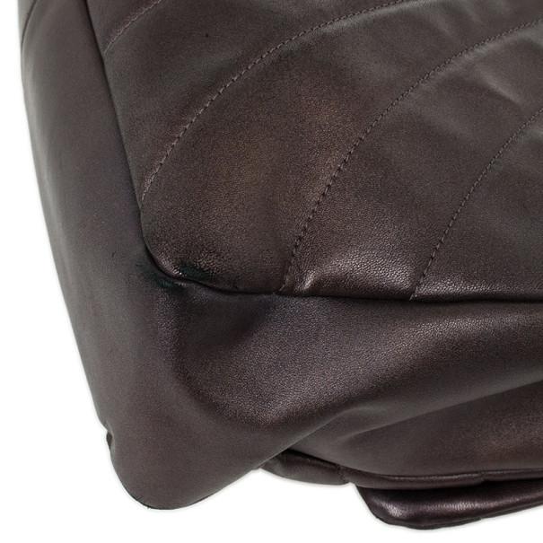Chanel Metallic Lambskin Maxi Flap