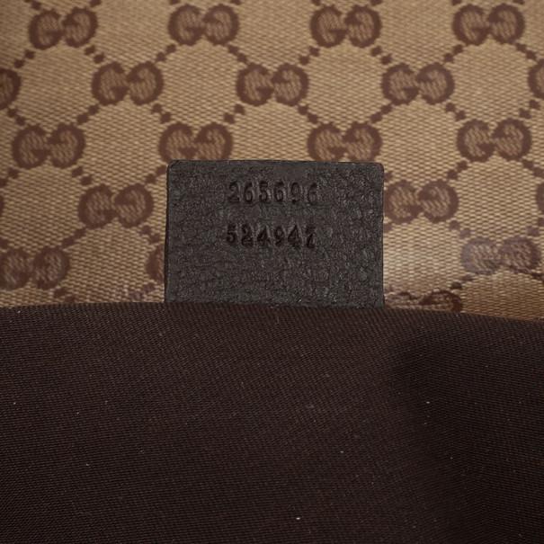Gucci Monogram Crystal Medium Tote