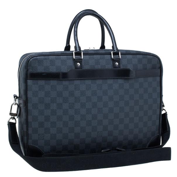 Louis Vuitton Damier Graphite Porte-Documents Voyage Briefcase GM