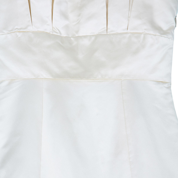 Vera Wang Duchesse Mermaid Silk Gown L