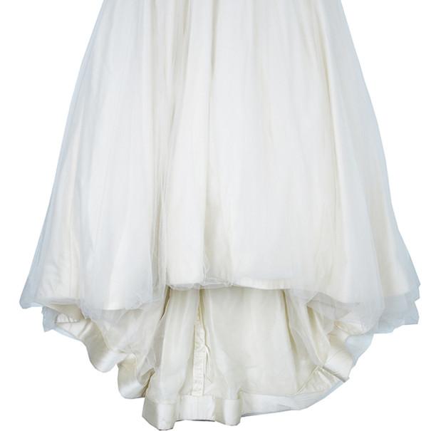Vera Wang Dantelle Embellished Wedding Dress M