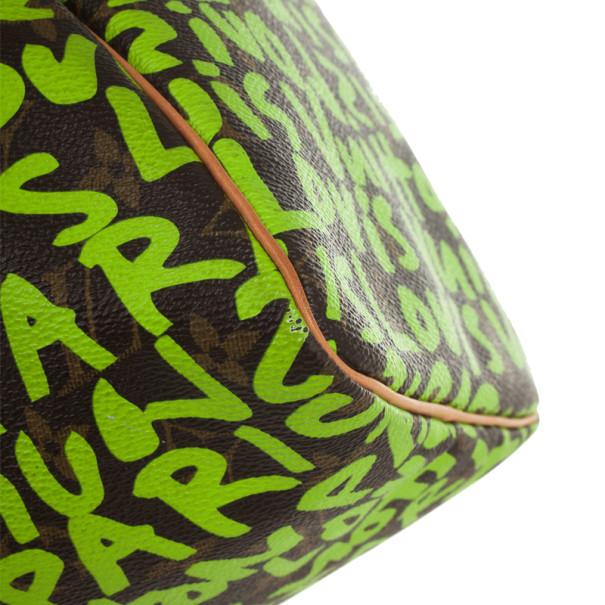 Louis Vuitton Stephen Sprouse Lime Green Graffiti Speedy 30
