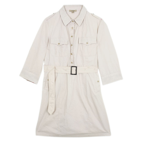 Burberry Military Shirt Dress XL