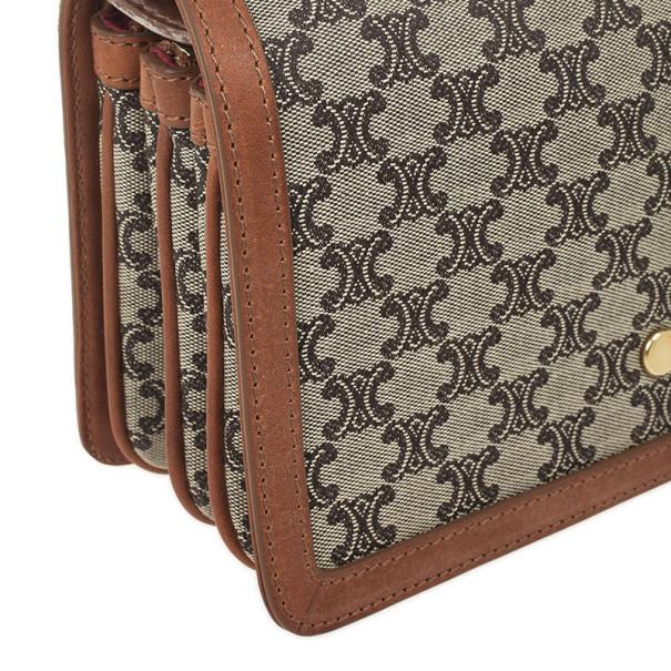 Celine Small Logo Shoulder Bag