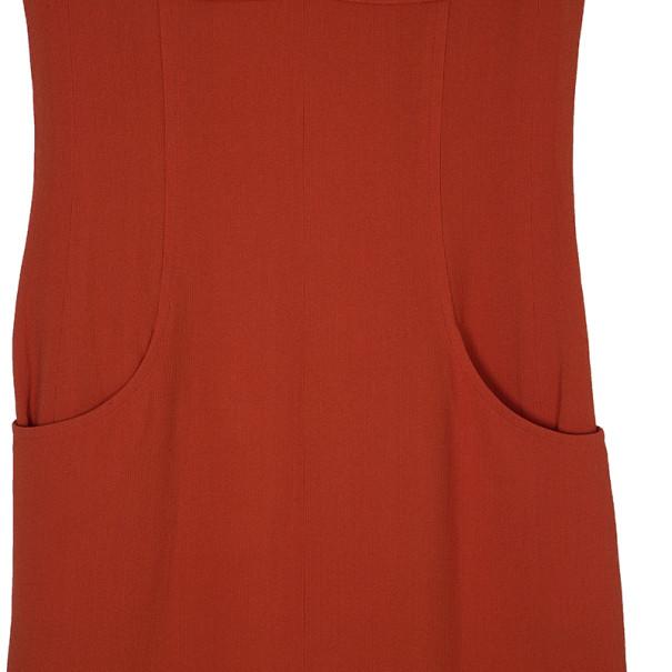 Chanel Orange Knee-length Dress L