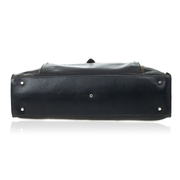Furla Black Leather Limited Edition Handbag