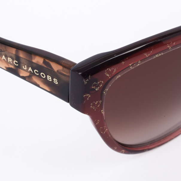 Marc by Marc Jacobs MJ280 Heart Print Womens Sunglasses