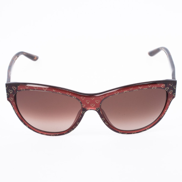 Marc by Marc Jacobs MJ280 Heart Print Womens Sunglasses