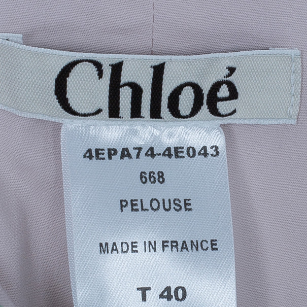 Chloe Green High Waisted Trousers M