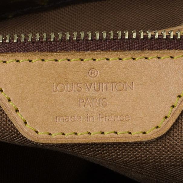 Louis Vuitton Monogram Canvas Cabas Piano