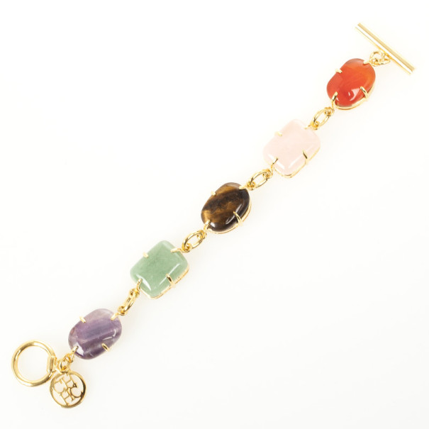 Carolina Herrera Colored Stones Bracelet