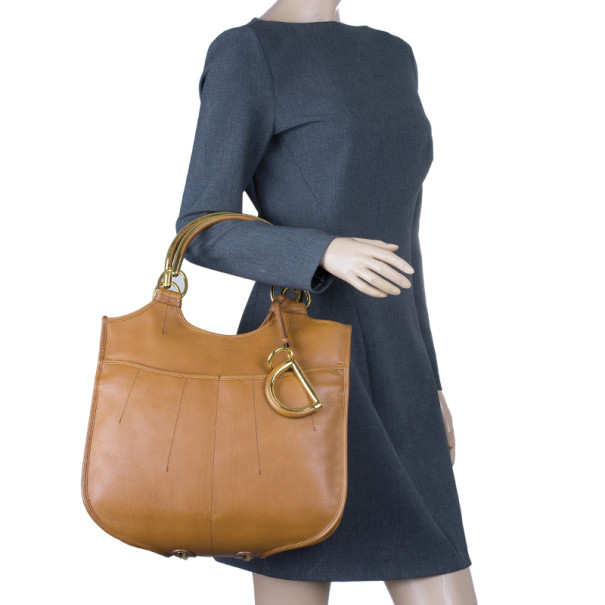 Dior Tan Leather 61 Hobo