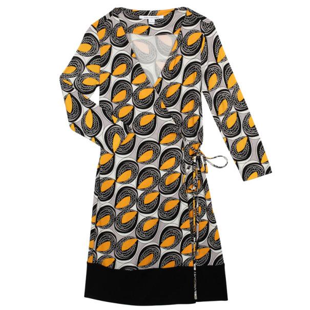 Diane Von Furstenburg Naoki Wrap Dress S