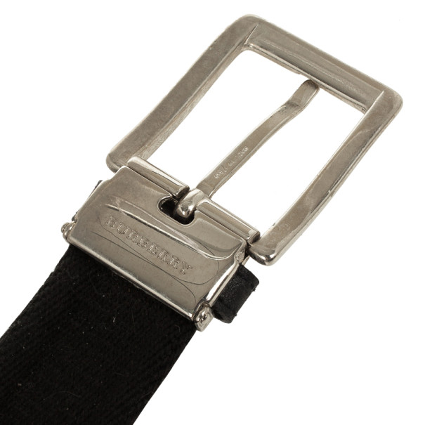 Burberry Black Woven Belt