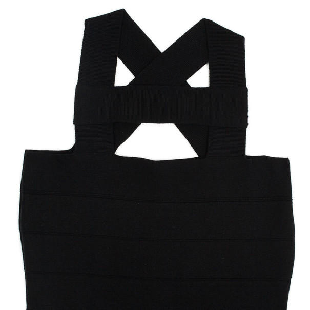 Stella McCartney Black Bandage Dress L