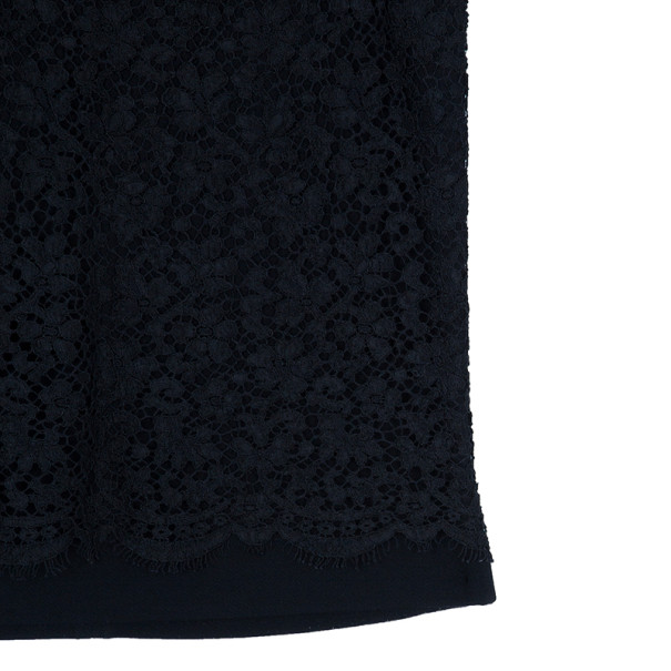 Dolce and Gabbana Lace Pencil Skirt M