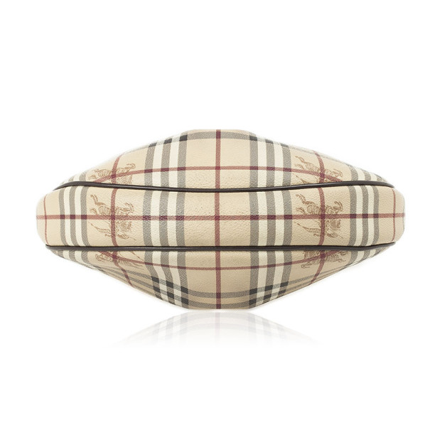 Burberry Haymarket Check Hobo Bag