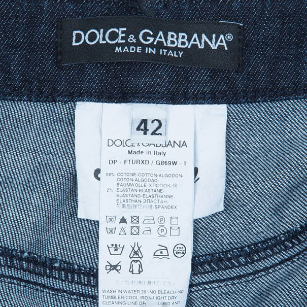 Dolce and Gabbana Dark Blue Denim Jeans M
