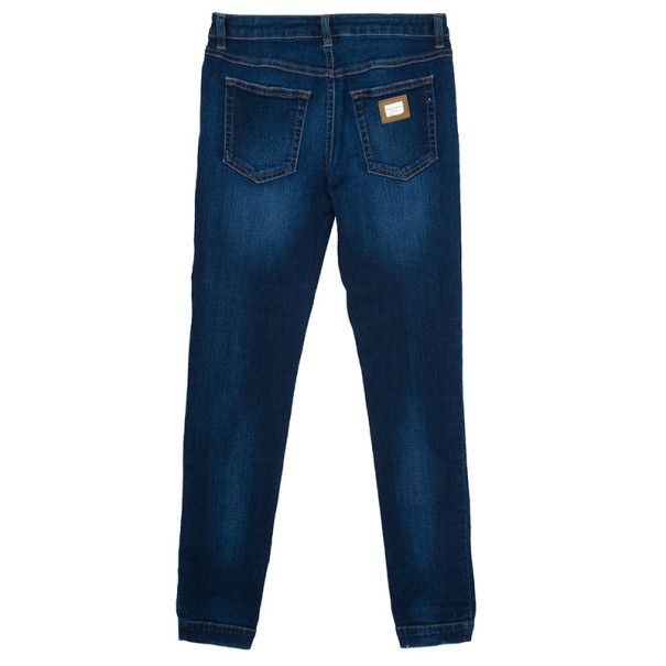 Dolce and Gabbana Blue Denim Jeans M