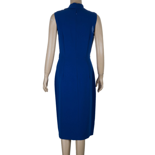 Max Mara Royal Blue Dress M