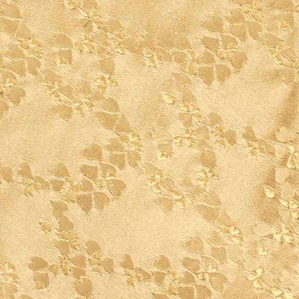 Salvatore Ferragamo Gold Heart Print Tie